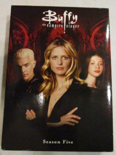 Buffy the Vampire Slayer - Season 5 - TV DVDs