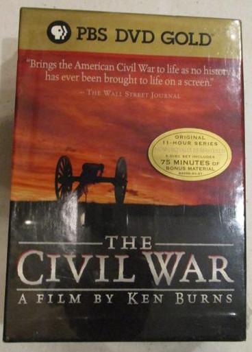 Civil War - Ken Burns - Complete Series - TV DVDs