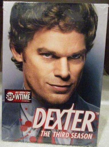 Dexter - Season 3 (Brand New - Still in Shrink Wrap) - TV DVDs