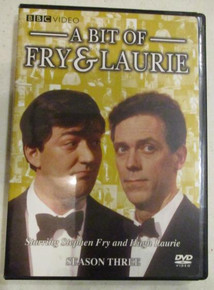 Fry & Laurie - Season 4 (Brand New - Still in Shrink Wrap) - TV DVDs