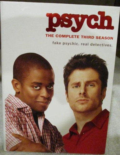 Psych - Season 3 - TV DVDs
