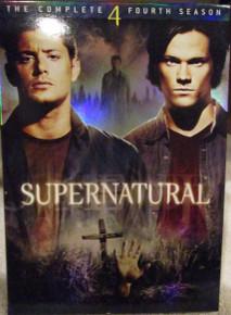 Supernatural - Season 4 - TV DVDs