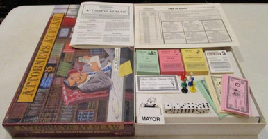 Vintage Board Games - Attorneys at Flaw - 1995 - Windbreaker Entertainment
