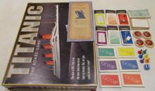 Vintage Board Games - Titanic - 1998 - Universal Games