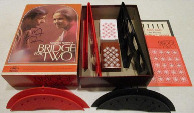 Vintage Board Games - Bridge for Two - 1972 - Milton Bradley