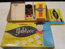 Vintage Board Games - Yahtzee - 1956 - Lowe