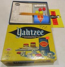 Vintage Board Games - Yahtzee - 1973 - Lowe