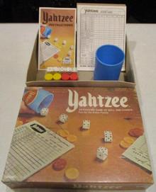 Vintage Board Games - Yahtzee - 1975 - Lowe