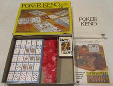 Vintage Board Games - Poker Keno - 1981 - Whitman