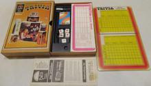 Vintage Board Games - NBC Trivia - 1970 - Hasbro