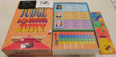 Vintage Board Games - Judge & Jury - 1995 - Winning Moves
