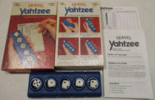 Vintage Board Games - Travel Yahtzee - 1984 - Lowe