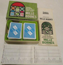 Vintage Board Games - Mille Bornes - 1964 - Parker Brothers