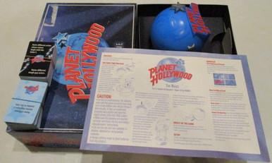 Vintage Board Games - Planet Hollywood - 1997 - Milton Bradley