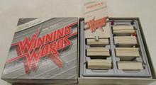 Vintage Board Games - Winning Words - 1986 - Peter Funk