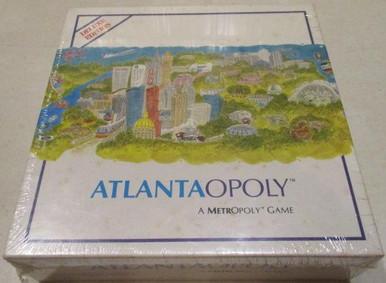 Vintage Board Games - Atlantaopoly - 1992 - Metropoly