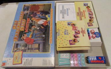 Vintage Board Games - Baby-Sitters Club Mystery - 1992 - Milton Bradley