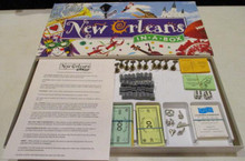 Vintage Board Games - New Orleans in a Box - Late for the Sky