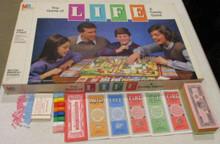Vintage Board Games - Life - 1985 - Milton Bradley