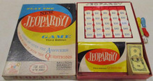Vintage Board Games - New Jeopardy Game - Third Edition - 1964 - Milton Bradley