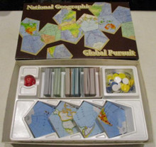 Vintage Board Games - National Geographic Global Pursuit - 1987