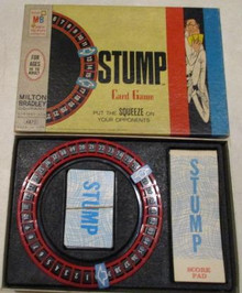 Vintage Board Games - Stump - Card Game - 1968