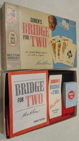 Vintage Board Games - Bridge for Two - 1964