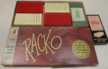 Vintage Board Games - Rack-O - 1956