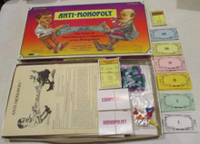 Vintage Board Games - Anti-Monopoly - 1989