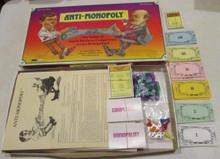 Vintage Board Games - Anti-Monopoly - 1989