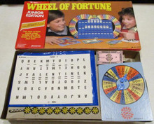 Vintage Board Games - Wheel of Fortune, Junior - 1987