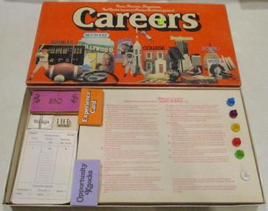 Vintage Board Games - Careers - 1979