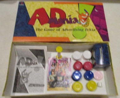 Vintage Board Games - AdMania - 1997