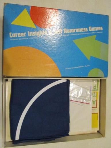 Vintage Board Games - Career Insights & Self-Awareness Game - 1973