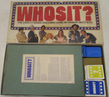 Vintage Board Games - Whosit? - 1976