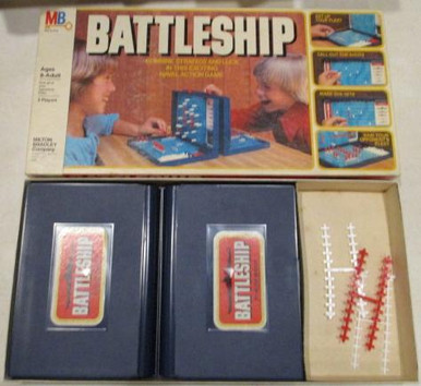 Vintage Board Games - Battleship  - 1978