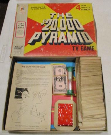 Vintage Board Games - $20,000 Pyramid - 4th Edition - 1977
