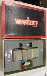 Vintage Board Games - Whatzit? - 1987