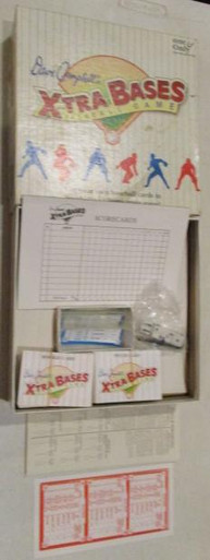 Vintage Board Games - Dave Campbell's X-tra Bases Baseball Game - 1992