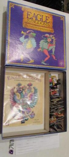 Vintage Board Games - Eagle Kingdoms - 1994