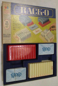Vintage Board Games - Rack-O - 1966