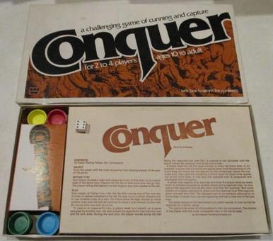 Vintage Board Games - Conquer - 1979