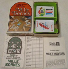 Vintage Board Games - Mille Bornes - 1971