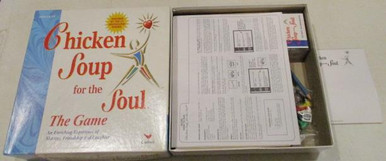Vintage Board Games - Chicken Soup for the Soul Game - 1999