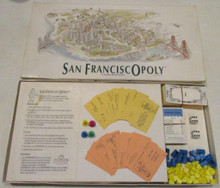 Vintage Board Games - San FranciscOpoly - 1989