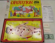 Vintage Board Games - Operation - Smoking Doctor - 1965