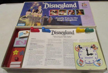 Vintage Board Games - Disneyland Game