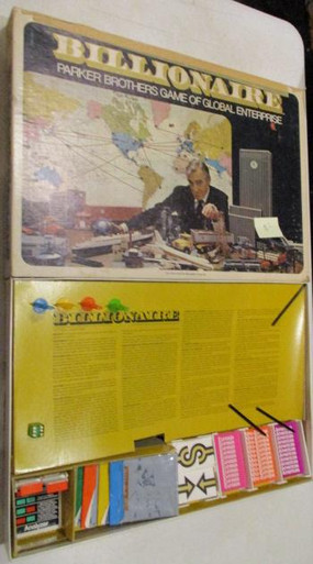 Vintage Board Games - Billionaire - 1973