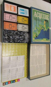 Vintage Board Games - Acquire - 1971