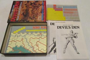Vintage Board Games - Devil's Den - 1980